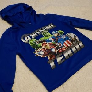 Marvel Avengers Dri-Fit hoodie.